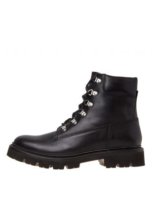 grenson rutherford calk boots 112083 black