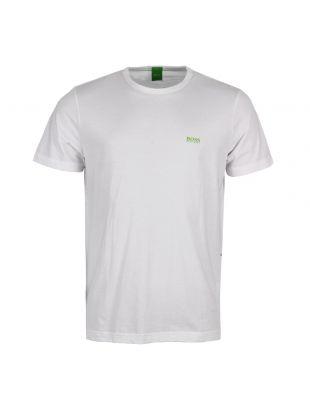 hugo boss t shirt white
