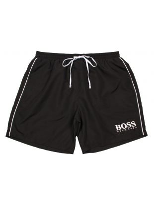hugo boss swim shorts black starfish