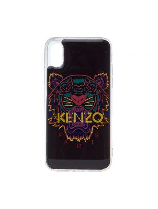 Kenzo iPhone X/Xs Case F96COKIFXTGR 99A In Black