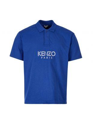 Kenzo Polo Shirt F965PO038 4BD 74 Royal Blue