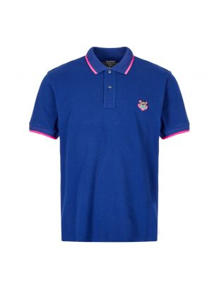 Kenzo Polo Shirt Tiger | PF665PO2014BA 74 Blue / Pink