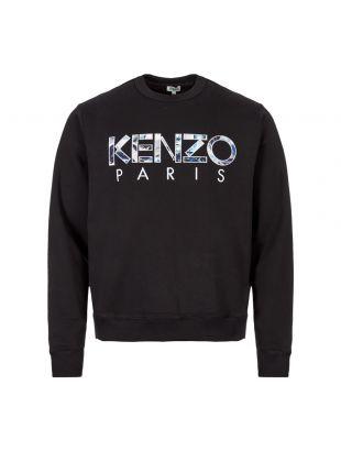 Kenzo Sweatshirt | F965SW000 4MD Black / Blue