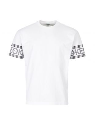 Kenzo T-Shirt F005TS043 4BD 01 White