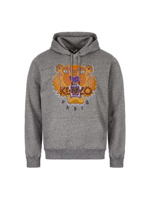 Kenzo Hoodie | F965SW418 4XK Anthracite Tiger