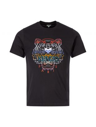 Kenzo Tiger T-Shirt F965TS026 4YE 99 Black