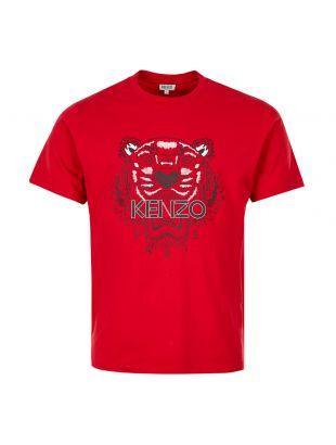 Kenzo Tiger T-Shirt | F965TS0504YA 21 Red