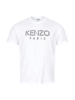 Kenzo T-Shirt Logo F005TS0924SG 01 White