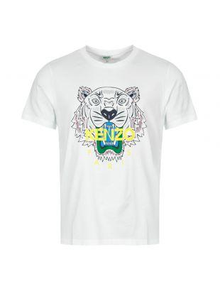 Kenzo Tiger T-Shirt F965TSS0504YA 01 In White