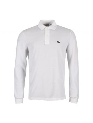 Lacoste Long Sleeve Polo Shirt | L131200 White