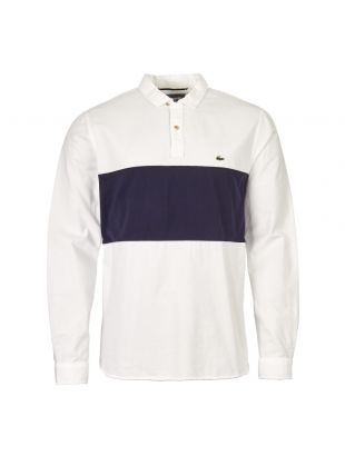 Lacoste Shirt | CH4862 00 522 White / Navy
