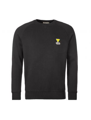 Maison Kitsune Sweatshirt Triangle Fox | DM00317K M0001 BK Black
