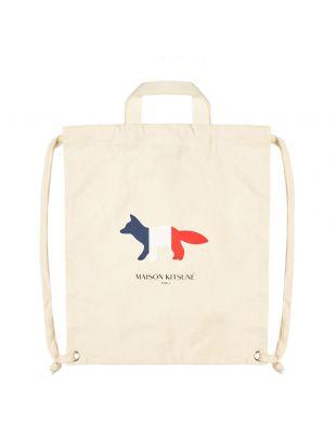Fox Tote Backpack – Ecru