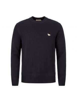Maison Kitsune Jumper Fox | DM00515K T1014 DN Navy