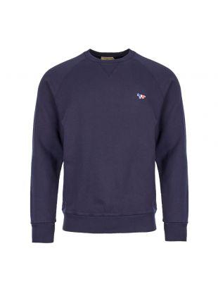 Maison Kitsune Sweatshirt AM00302K M0002 NA Navy