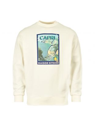 Maison Kitsune Sweatshirt CM00308K M0001 EC In Ecru