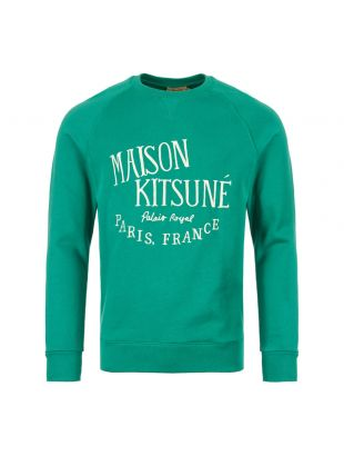 Maison Kitsune Sweatshirt CM00302K M0001 GN In Green