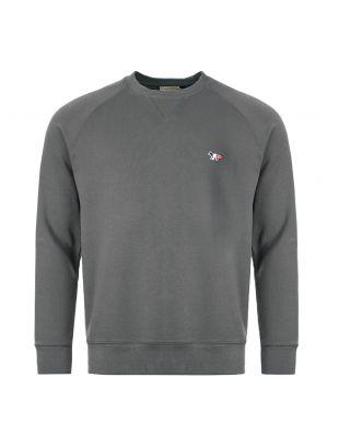 Maison Kitsune Sweatshirt Fox Patch DM00313K M00002 AN Grey