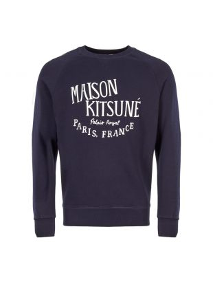 Maison Kitsune Sweatshirt AM00300K M0001 NA Navy