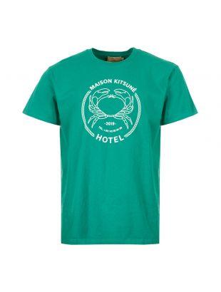 Maison Kitsune Hotel T-Shirt CM00109K J0008 GN In Green