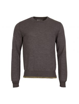 Maison Margiela Hem Detail Sweater S50HA0827 S16401 854M Grey