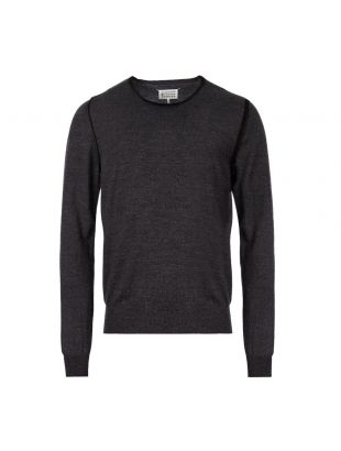 Maison Margiela Knitted Sweater | S50HA0876 S16768 001F Grey