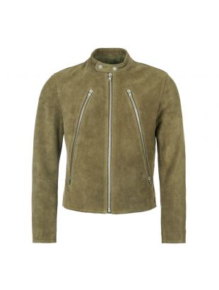 Maison Margiela Suede Jacket S50AM0413 SY0938 741 Green
