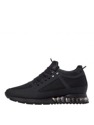 mallet footwear tech diver trainers TR1018BLK black