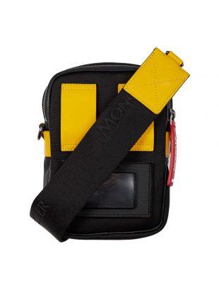 Moncler Cross Body Bag 00640 00 02S1J 999 Black / Yellow