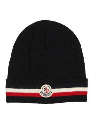 Moncler Beanie 00328 00 02292 742 Navy
