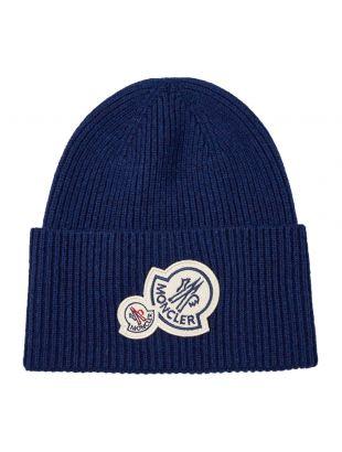 moncler beanie 99272 00 A9188 780 blue