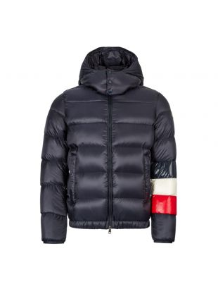 Moncler Jacket | 41355 85 C0104 742 Navy / Red / White