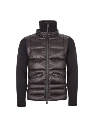 Moncler Grenoble Knitted Cardigan | 94216 00 94778 999 Black