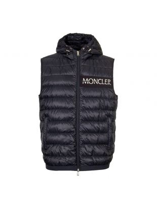 Moncler Laruns Gilet 43344 94 C0019 776 Navy