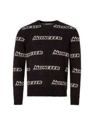 Moncler Jumper 90436 A9138 999 Black