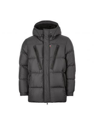 Moncler Jacket Obert 41872|05|549SK|999 In Black At Aphrodite Clothing