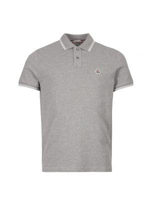 Moncler Polo Shirt 83043 00 84556 984 Grey