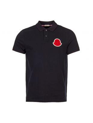 Moncler Polo Shirt 83220|00|84556|773 Navy