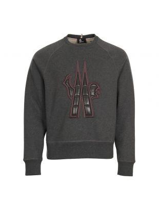 Moncler Grenoble Logo Sweatshirt 80002 50 80426 985 Grey