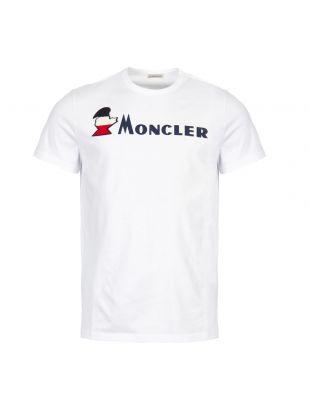 Moncler T-Shirt 80418|50|8390T|001 White