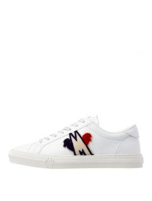Moncler Trainers New Monaco 10376 00 02S0T 002 white