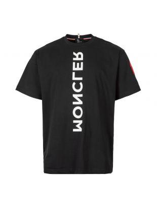 Moncler Grenoble T-Shirt Maglia   80019 50 83927 999 Black