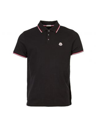 moncler polo tipped 83456 00 84556 999 black