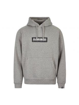 Napapijri Hoodie NP000KBT 160 Grey
