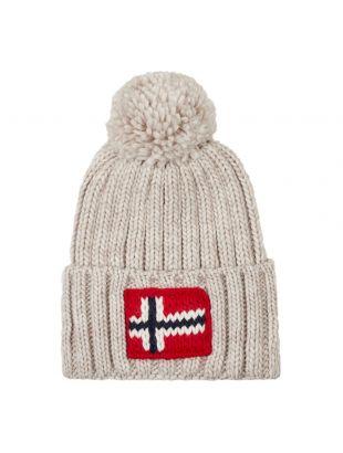 Napapijri Bobble Hat Semiury | NOYKCK N1S Natural