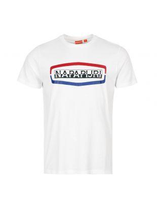 Napapijri T-shirt Sogy NOYKAG 002 White