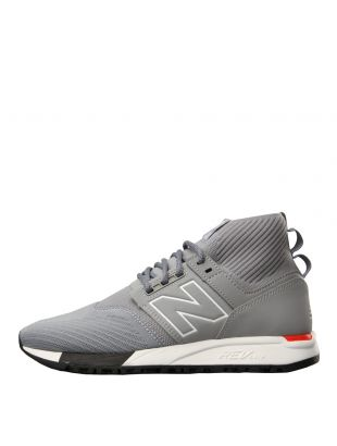 New Balance 247 Mid Trainers in Grey MRL247OD