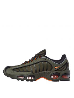 Nike Air Max Tailwind IV Trainers | CJ9681 300 Green / Orange