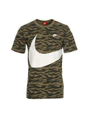 Nike Swoosh T-Shirt AO0861-222 In Green