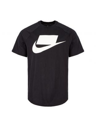 Nike T-Shirt NSW BV7595 011 Black / White